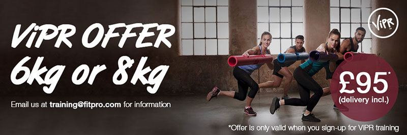 ViPR offer | Discound 6kg or 8kg ViPR when signing up for ViPR training