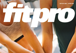 Fitpro Sep-Oct 2020 magazine cover